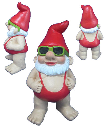 Gnome in mankini