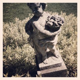 cherub statue for garden