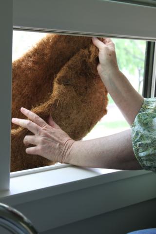 coir liner for window box