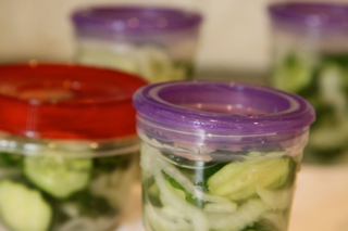 how to make freezer pickles