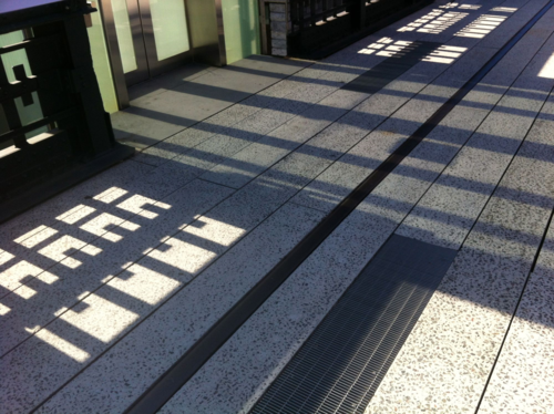 Graphic shadow design High Line, Chelsea