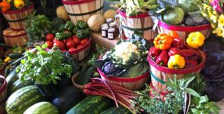 storing garden produce